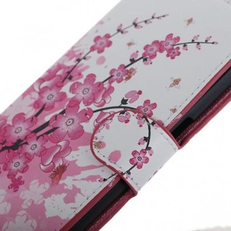 Etui Galaxy S6 Motif Fleur Japonnaise