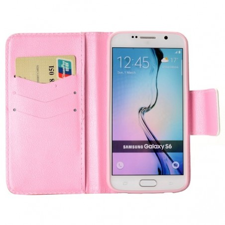 Etui Galaxy S6 Motif Be Free