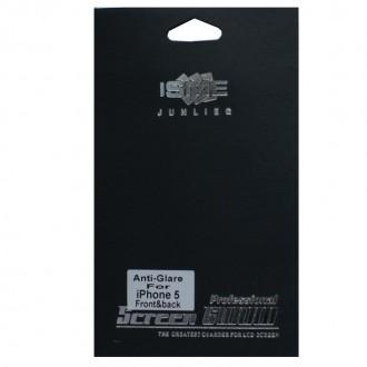 Film iPhone 5 protection anti-reflet avant-arrière