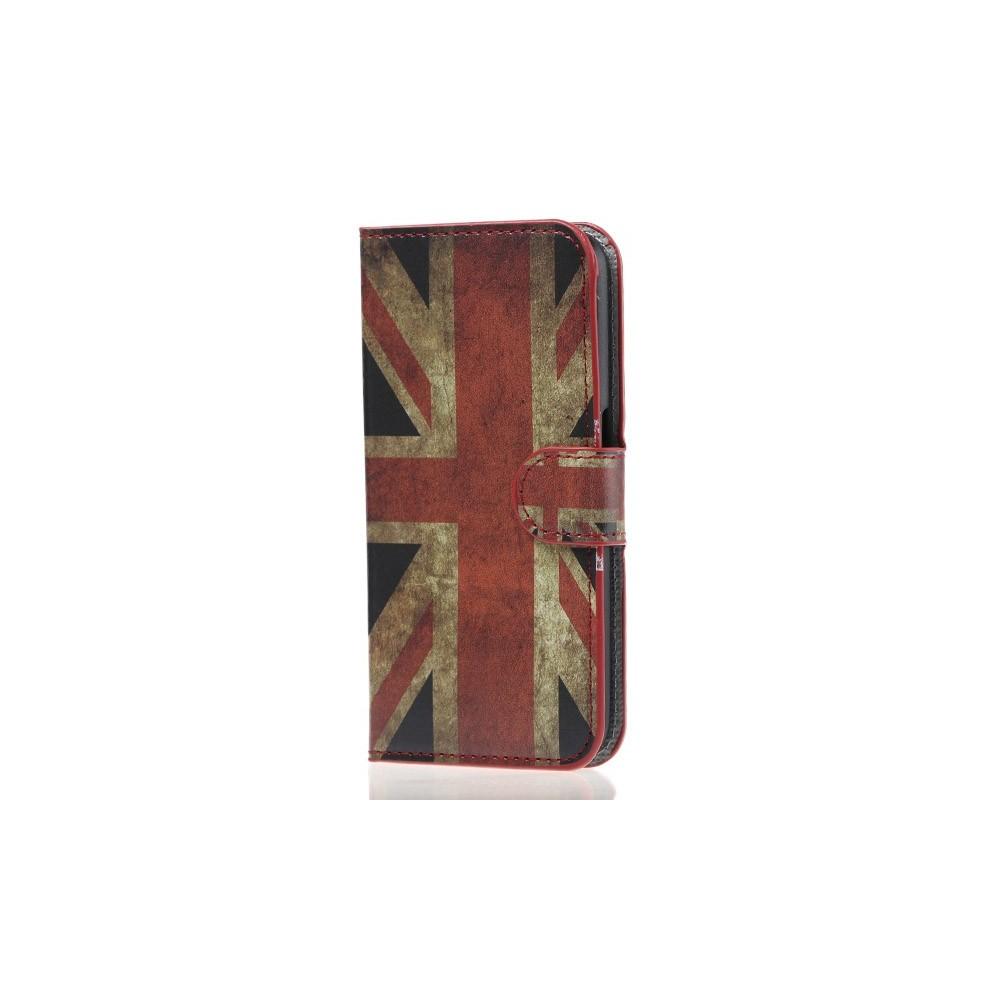 Etui Galaxy S6 motif Drapeau UK Vintage
