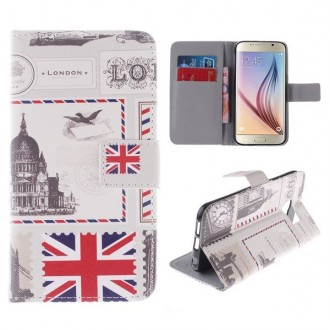Etui Galaxy S6 motif Drapeau UK