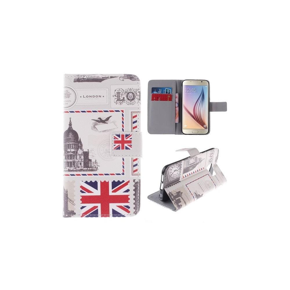 Etui Galaxy S6 motif Drapeau UK