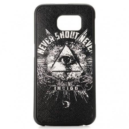 Coque Galaxy S6 motif Oeil noir