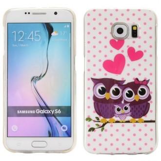 Coque Galaxy S6 Famille de Chouette