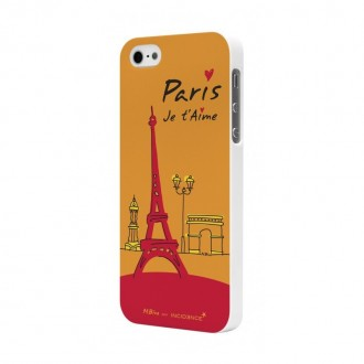 Coque Moxie motif monuments parisiens pour Apple iPhone 5/5S