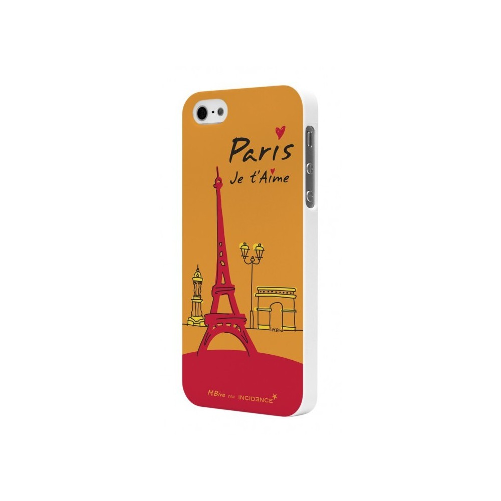 Coque Moxie motif monuments parisiens pour Apple iPhone 5/5S