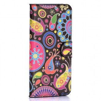Etui HTC One M9 motifs colorés