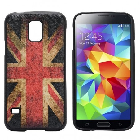 Coque Galaxy S5 drapeau UK vintage