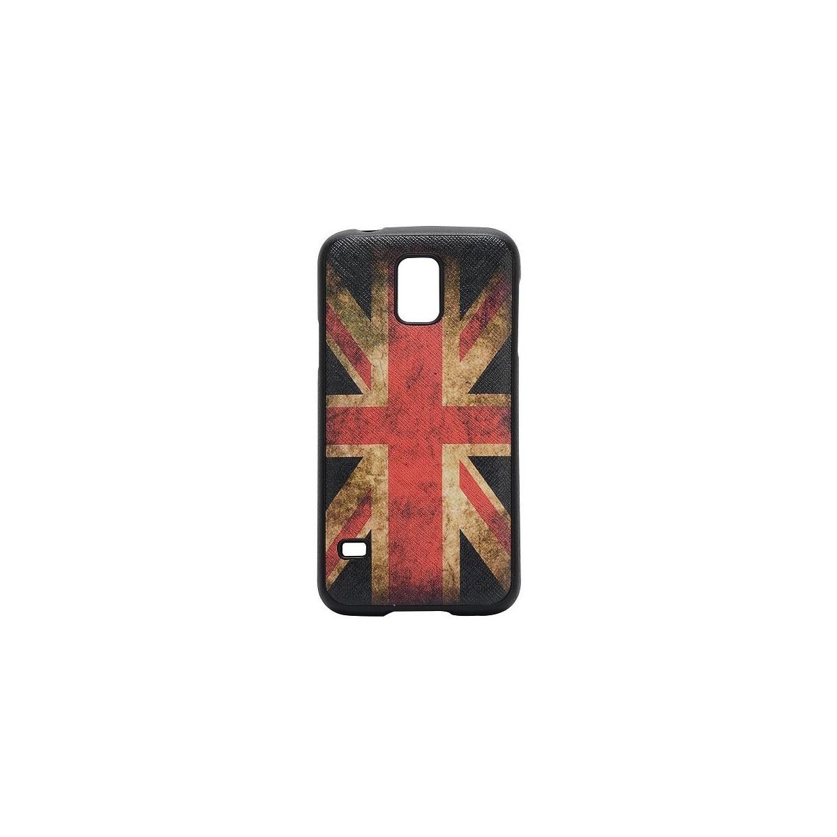 Coque Galaxy S5 drapeau UK vintage