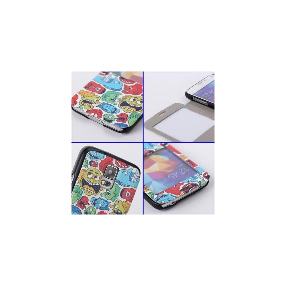 Etui Galaxy S5 motif Chouette
