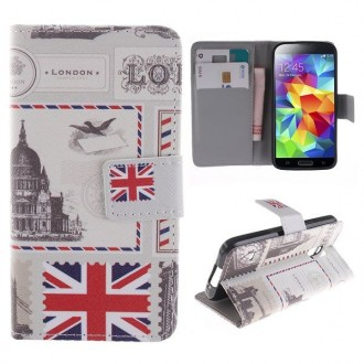 Etui Galaxy S5 Mini motif drapeau UK