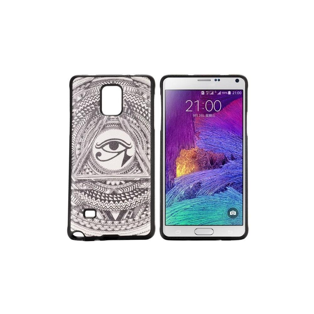 Coque Galaxy Note 4 motif Oeil Oudjat