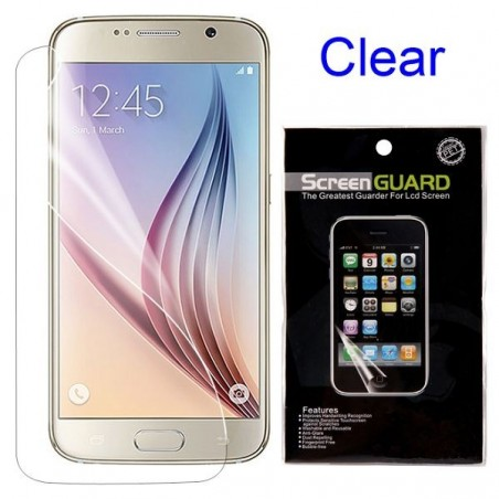 Film Galaxy S6 protection transparent