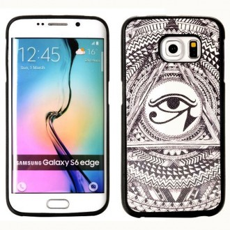 Crazy Kase - Coque Galaxy S6 Edge motif Oeil Oudjat