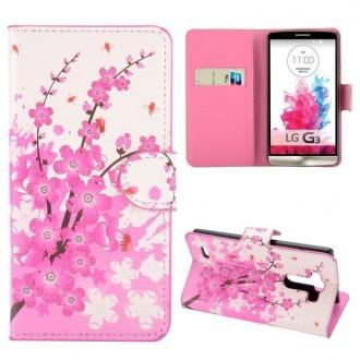 Crazy Kase - Etui LG G3 Motif Fleur Japonnaise