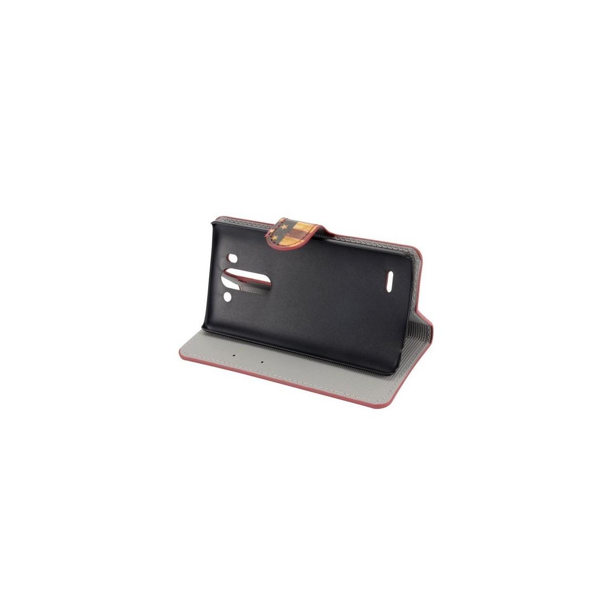 Crazy Kase - Etui LG G3s Motif Drapeau USA Vintage