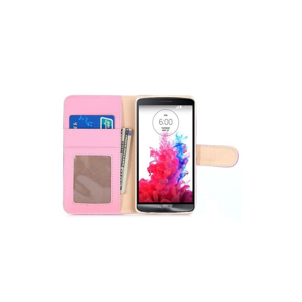 Crazy Kase - Etui LG G3s Simili-cuir Violet