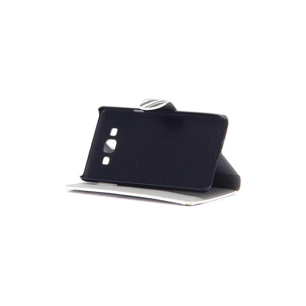 Crazy Kase - Etui Galaxy A7 Motif Zébré noir et blanc