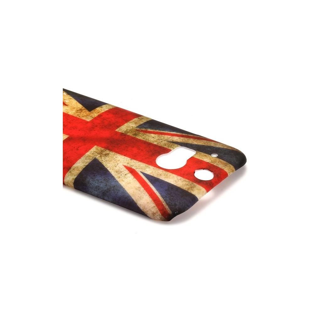 Crazy kase - Coque HTC One M8 motif drapeau UK vintage