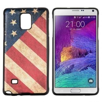 Crazy Kase - Coque Galaxy Note 4 motif drapeau USA vintage