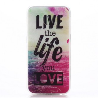 Crazy Kase - Coque Galaxy S6 motif Live the Life you Love