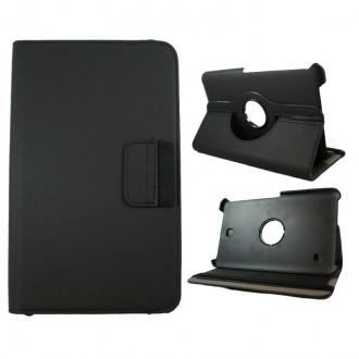 Crazy Kase - Etui Galaxy Tab 4 8.0 Rotatif 360° noir
