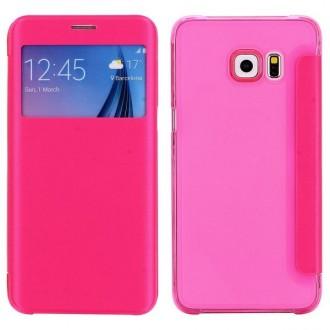 Crazy Kase - Etui Galaxy S6 Edge Plus Rose