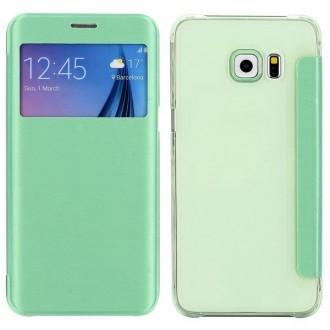 Crazy Kase - Etui Galaxy S6 Edge Plus Vert