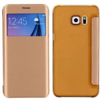 Crazy Kase - Etui Galaxy S6 Edge Plus Doré