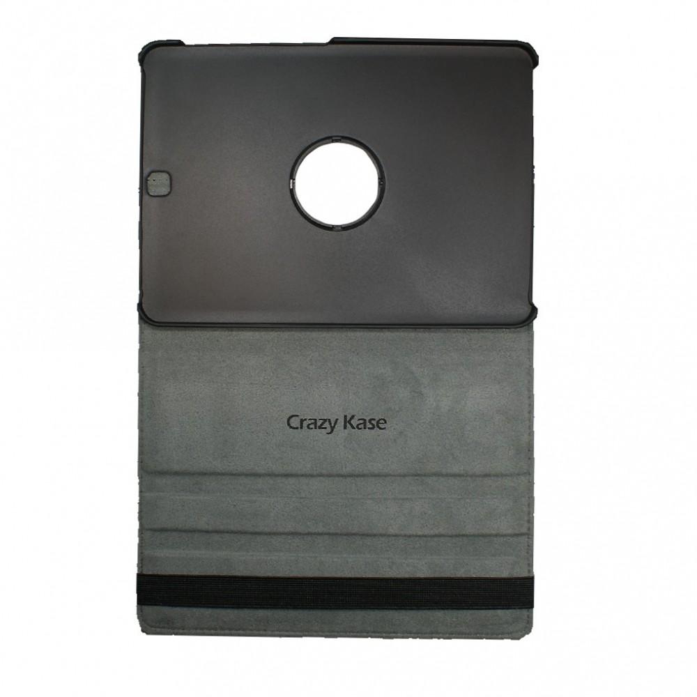 Crazy Kase - Etui Galaxy Tab S2 9.7 Rotatif 360° Motif Couple de Chouette