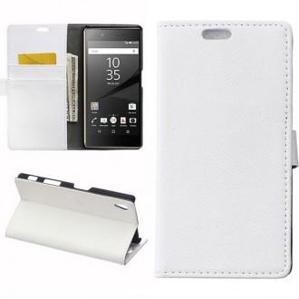 Crazy Kase - Etui Sony Xperia Z5 Blanc