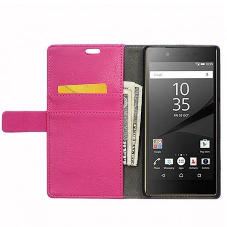 Crazy Kase - Etui Sony Xperia Z5 Rose