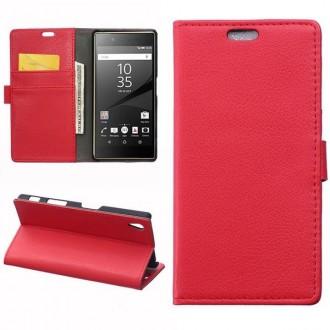 Crazy Kase - Etui Sony Xperia Z5 Rouge
