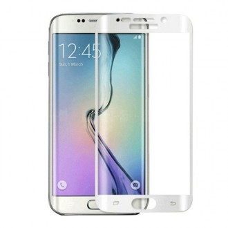 Film Galaxy S6 Edge protection écran verre trempé incurvé