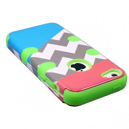 Crazy Kase - Coque iPhone 5C Multicouleur