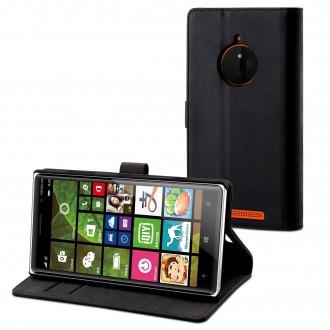 Etui Nokia Lumia 830 noir - Muvit