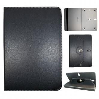 Crazy Kase - Etui tablette universel 10 pouces rotatif 360° Noir