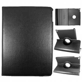 Crazy Kase - Etui iPad Air 2 Rotatif 360° Noir