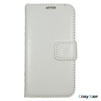 Crazy Kase - Etui Galaxy J1 Uni Blanc