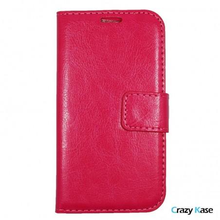 Crazy Kase - Etui Galaxy J1 Uni Rose