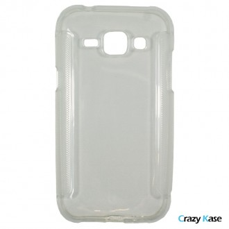 Crazy Kase - Coque Galaxy J1 Transparent Silicone