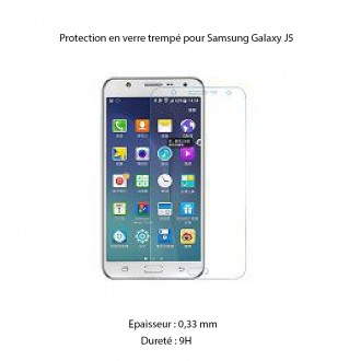 Film Galaxy J5 protection écran verre trempé