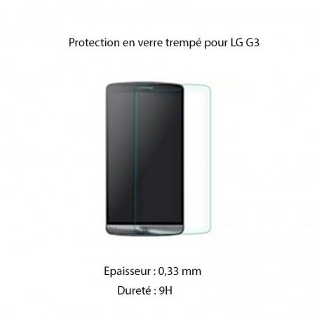 Film LG G3 protection écran verre trempé