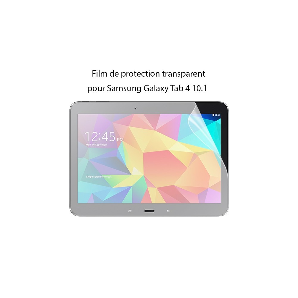 Film Galaxy Tab 4 10.1 protection transparent