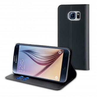 Etui Galaxy S7 Portecartes Noir - Muvit
