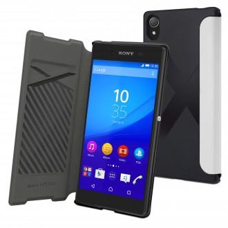 Etui Sony Xperia Z5 Blanc - Muvit