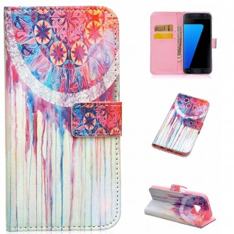 Crazy Kase - Etui Galaxy S7 motif Attrape rêves