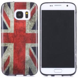 Coque Galaxy S7 motif Drapeau UK - Crazy Kase