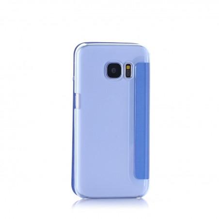 Etui Galaxy S7 Bleu - Crazy Kase