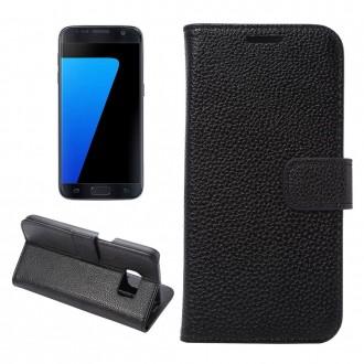 Etui Galaxy S7 Portecarte Noir - Crazy Kase